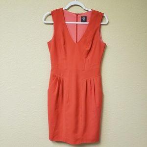Vince Camuto | Orange Dress